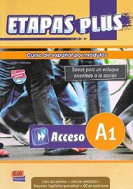 Etapas Plus Acceso A1 - Libro del alumno/Ejercicios + CD