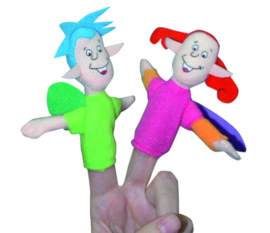 Footprints Level 1 Finger Puppet