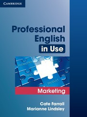 Professional English in Use Marketing Book with answers