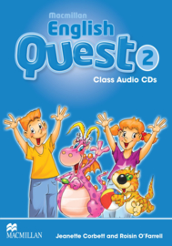 Macmillan English Quest Level 2 Audio CDs (3)