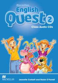 Macmillan English Quest Level 2 Audio CDs (3)