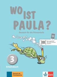 Wo ist Paula? 3 Werkboek met CD-ROM (MP3-Audios)