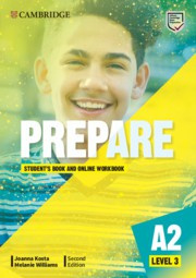 Prepare Second edition Level3 Student's Book and Online Workbook