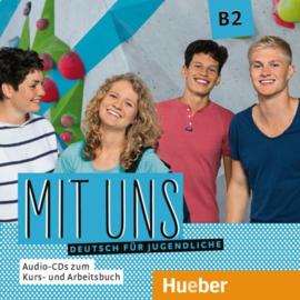 Mit uns B2 1 Audio-CD bij het Studentenboek 1 Audio-CD bij het Werkboek