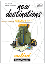 New Destinations Beginners Workbook Teachers Edition