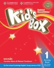 Kid's Box Updated Second edition Level1 Activity Book with Online Resources