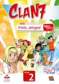 Clan 7 con ¡Hola, amigos! 2- Libro del alumno