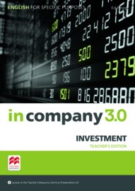 In Company 3.0 ESP Investment Teacher's Pack