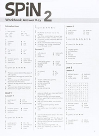 Spin 2 Workbook Answer Key