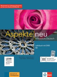Aspekte neu B2 Lehrbuch met DVD