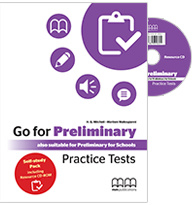 Go For Preliminary Practice Tests Students Book (self Study Pack With Resource Cd)