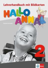 Hallo Anna 2 Lerarenboek met Bildkarten en Kopiervorlagen + CD-ROM