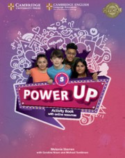 Power Up Level5 Activity Book with Online Resources and Home Booklet