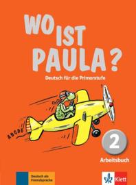 Wo ist Paula? 2 Werkboek met CD-ROM (MP3-Audios)