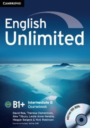 English Unlimited Combos Intermediate B Combo with DVD-ROMs (2)