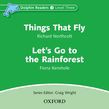 Dolphin Readers Level 3 Things That Fly & Let's Go To The Rainforest Audio Cd