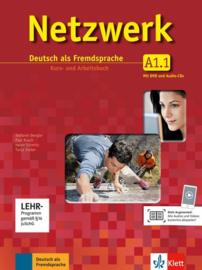 Netzwerk A1 Studentenboek en Werkboek met DVD en 2 Audio-CDs