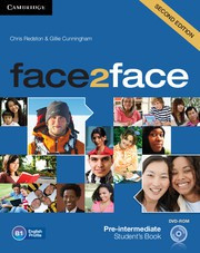 face2face Second edition Pre-intermediate Student's Book with DVD-ROM