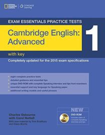 Exam Essentials: Cambridge Advanced Practice Test 1 with Key + Dvd-rom