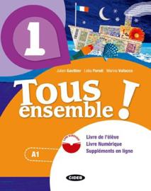 Livre de l'élève 1 + Cahier d'exercices 1 + CD audio + Livre Numérique 1