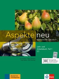Aspekte neu C1 Studentenboek en Werkboek Teil 1 met Audio-CD