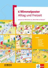 Wimmelposter Alltag en Freizeit 6 Poster