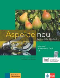 Aspekte neu C1 Studentenboek en Werkboek Teil 2 met Audio-CD