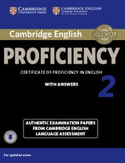 Cambridge English Proficiency 2 for updated exam Student's Book with answers with Audio