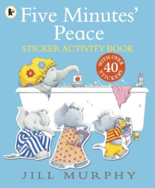 Five Minutes' Peace Sticker Activity Book (Jill Murphy)