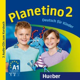 Planetino 2 3 Audio-CDs bij het Studentenboek