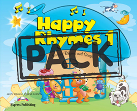 HAPPY RHYMES 1 PUPIL'S PACK 2 (CD & DVD PAL)
