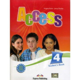 Access 4 Student's Book With Cd