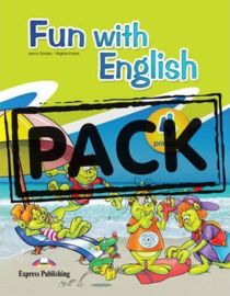 Fun With English 4 Primary Student's Pack With Multi-rom