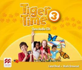 Tiger Time 3 Class Audio CD (2)