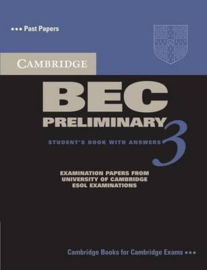 Cambridge BEC 3 Preliminary Student's Book with answers