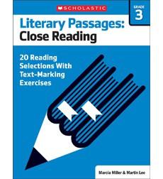 Literary Passages: Close Reading: Grade 3