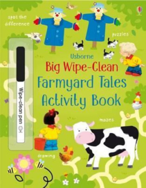 Big Wipe Clean Farmyard Tales Activities Book