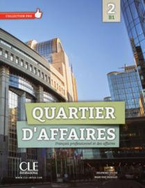 Quartier daffaires 2 - Niveau B1 - Livre de lélève + DVD Rom