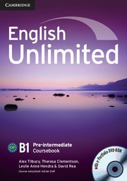 English Unlimited Pre-intermediate Coursebook with ePortfolio