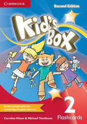 Kid's Box Updated Second edition Level2 Flashcards (pack of 103)