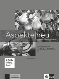 Aspekte neu C1 Lerarenboek met Digitaalr Medien-DVD-ROM