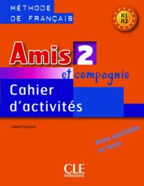 Amis et compagnie - Niveau 2 - Cahier dactivités