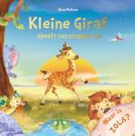 Kleine Giraf speelt verstoppertje (Elke Doelman)