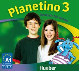 Planetino 3 3 Audio-CDs bij het Studentenboek