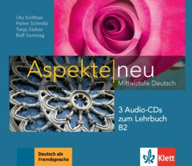 Aspekte neu B2 3 Audio-CDs bij het Lehrbuch