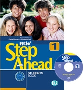 New Step Ahead 1 Student's Book + Cd Rom