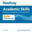 Headway Academic Skills 1 Listening, Speaking, And Study Skills Class Audio Cds (2)