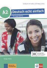 Deutsch echt einfach A2 Studentenboek met Audio en Video online