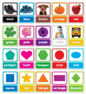 Colors & Shapes in Photos Bulletin Board