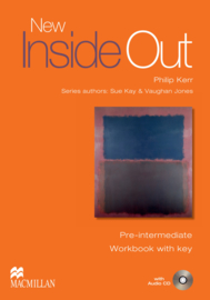 Inside Out New Pre-intermediate  Workbook (With Key) & Audio CD Pack